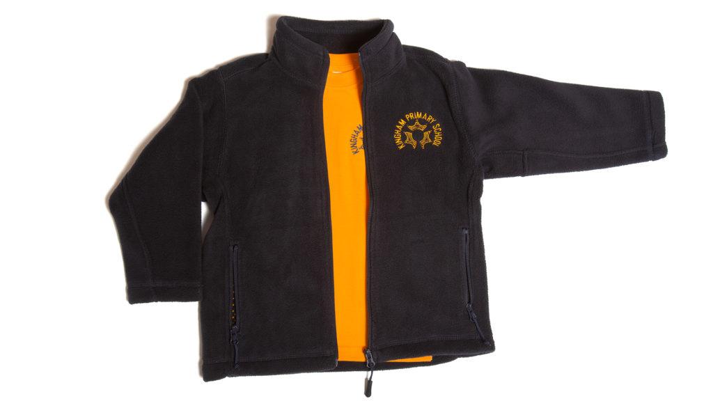 Kingham Primary School fleece and PE T-shirt