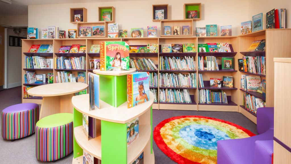 Kingham Primary School library