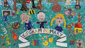 Kingham Primary School Mosaic (detail)